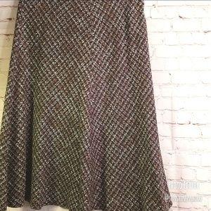 ■Jones NY■ (12) Gray Tweed Skirt